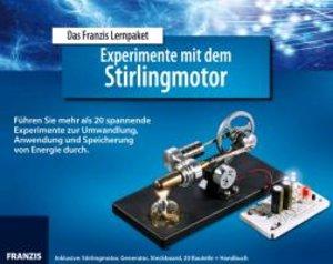 Experimente mit dem Stirlingmotor