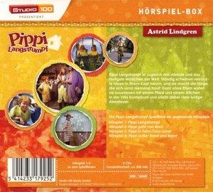 Pippi Langstrumpf Hörspiel Sammelbox (4 CDs)