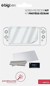 SCREEN PROTECTOR KIT für Nintendo Switch, Schutzfolie, NSW