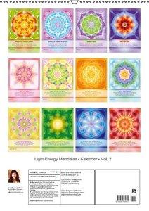 Shayana Hoffmann, G: Light Energy Mandalas - Kalender - Vol.