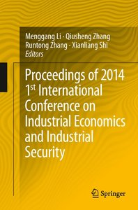 Proceedings of 2014 1st International Conference on Industrial E