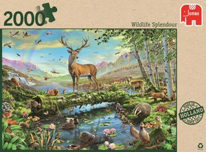 Jumbo Spiele 18357 - Wildlife Splendour, 2000 Teile
