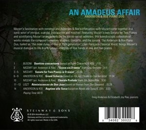 An Amadeus Affair - Transkriptionen