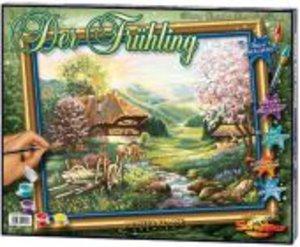 Schipper 609130505 - Der Frühling, MNZ, Malen nach Zahlen