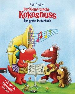 Der kleine Drache Kokosnuss - Das große Liederbuch mit CD - Set