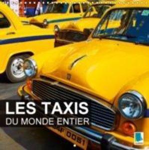 Les taxis du monde entier (Calendrier mural 2015 300 × 300 mm Sq