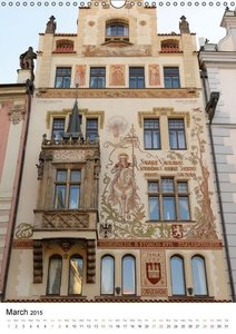 In Prague (Wall Calendar 2015 DIN A3 Portrait)