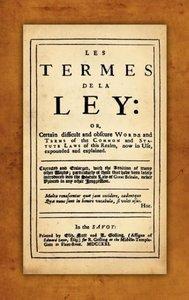 Les Termes de la Ley