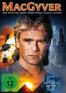 MacGyver - Season 5 (6 Discs, Multibox)