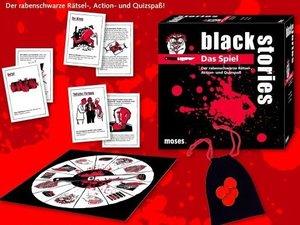 Moses Verlag 90020 - Black Stories, Das Spiel