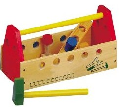 Bino 82146 - Werkzeugkasten - zum Schließen ins Bild klicken