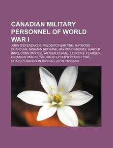 Canadian military personnel of World War I