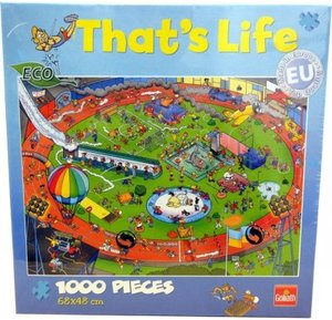 Goliath 71305006 - Thats Life Wimmel Puzzle Sport, 1000 Teile