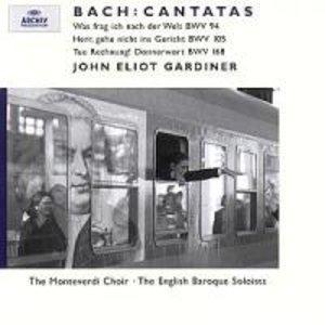 Kantaten BWV 94,105,168