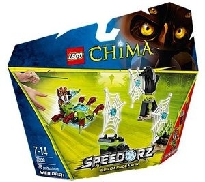 LEGO® Chima 70138 - Spinnennetz