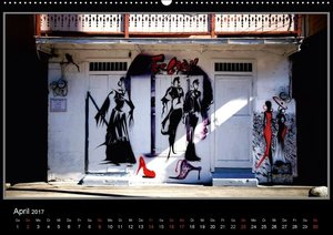 Karibik 2017 - Gebäude und Fassaden (Wandkalender 2017 DIN A2 qu