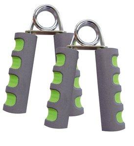 Schildkröt 960022 - Fitness Handmuskeltrainer, 2er Set, anthrazi