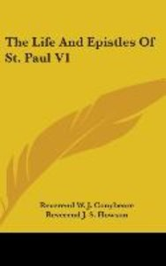 The Life And Epistles Of St. Paul V1