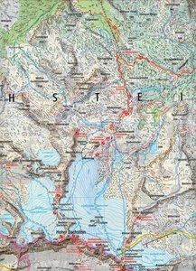 Dachstein - Ramsau - Filzmoos 1 : 25 000
