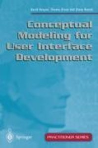 Conceptual Modeling for User Interface Development