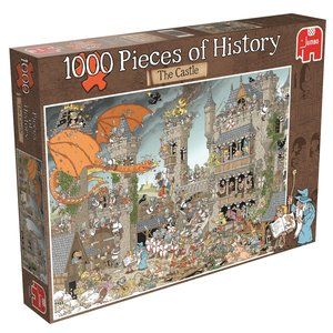 Rob Derks - Pieces of History - Die Burg. Puzzle 1000 Teile