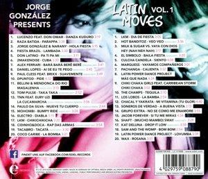 Jorge Gonzáles presents Latin Moves Vol. 1