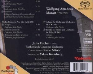 Violinkonzerte 3+4/Adagio/+
