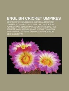 English cricket umpires