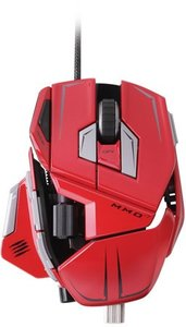 M.M.O. 7 Gaming Mouse für PC und Mac - rot