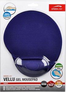 Speedlink SL-6211-SBE-01 VELLU Gel Mousepad, blau