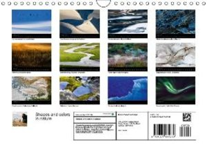 Shapes and colors in nature (Wall Calendar 2015 DIN A4 Landscape