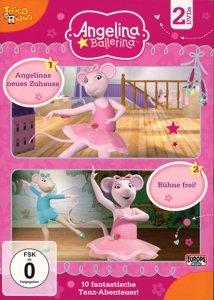 Angelina Ballerina 2er DVD 01 (1+2)
