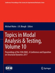 Topics in Modal Analysis & Testing, Volume 10