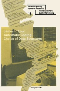Automatic Coding: Choice of Data Structures