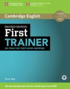 First Trainer Six Practice Tests with Answers with Audio