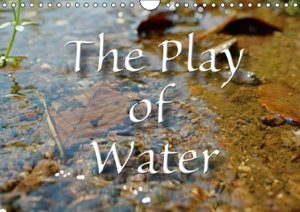 The play of water (Wall Calendar 2015 DIN A4 Landscape)