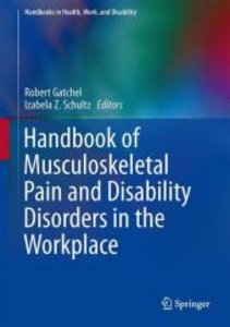 Handbook of Musculoskeletal Pain and Disability Disorders in the