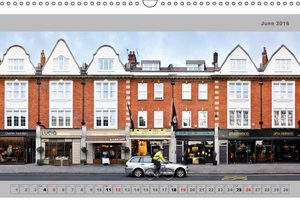 London Street Fronts 2016 / UK-Version (Wall Calendar 2016 DIN A