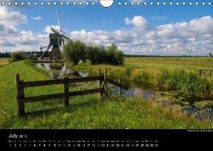 Dutch Landscapes: Alblasserwaard 2015 (Wall Calendar 2015 DIN A4