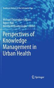 Urban Health Knowledge Management