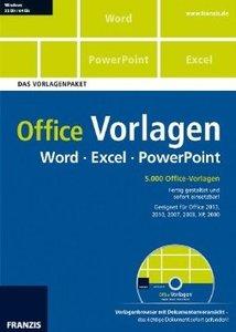 Office Vorlagen Word . Excel . PowerPoint - Das Vorlagenpaket