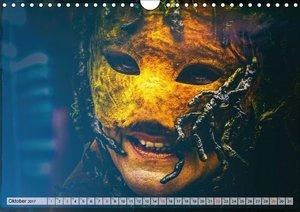 Festival der Masken (Wandkalender 2017 DIN A4 quer)
