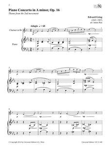 Clarinet Album für Klarinette und Klavier