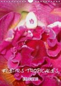 Fleurs tropicales / organiseur (Calendrier mural 2015 DIN A4 ver