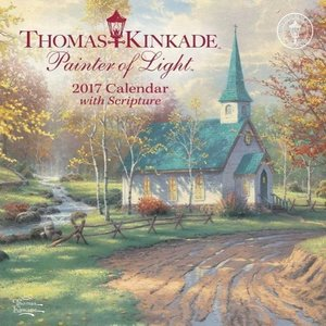Thomas Kinkade Painter Light Script 2017