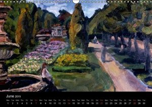 Landscapes and Street Scenes Paintings (Wall Calendar 2015 DIN A