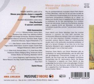 Messe Für Doppelchor/+