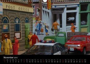 American Model Cars / UK-Version (Wall Calendar 2015 DIN A3 Land