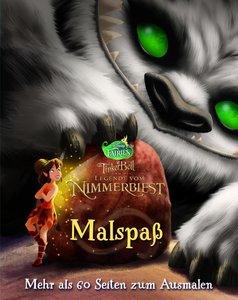 Disney Tinkerbell und die Legende vom Nimmerbiest (Malbuch)