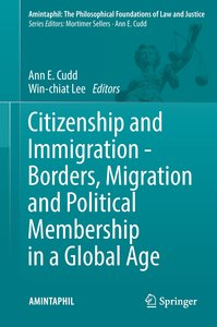 Citizenship and Immigration - Borders, Migration and Political M